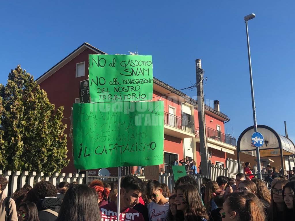 studenti l'aquila global strike