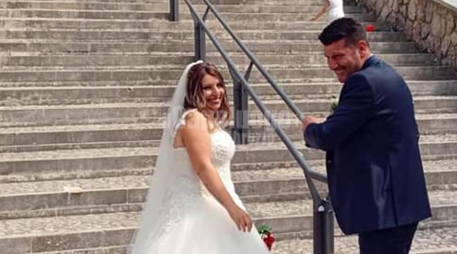 Francesca Caterini e Vincenzo Rossi sposi