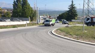 incidente bazzano asm ciclista