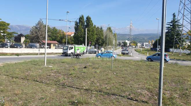 incidente bazzano ciclista 14 sett 2019