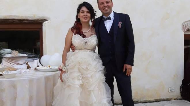 ludovica e alfredo sposi