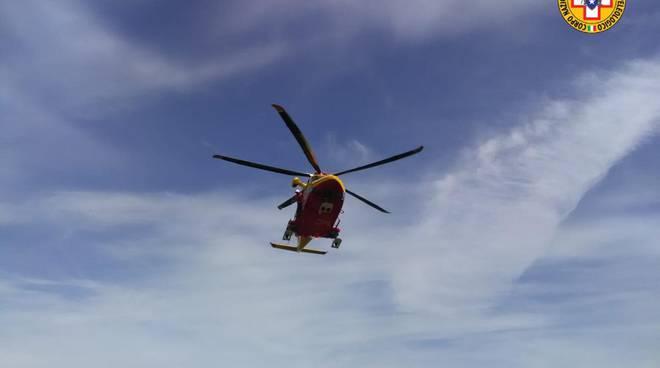 soccorso alpino elicottero