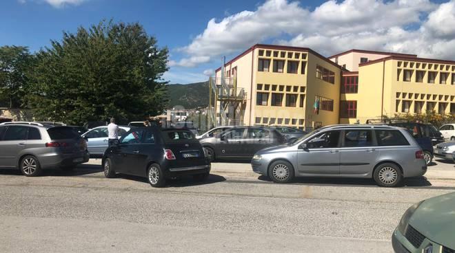 traffico scuola