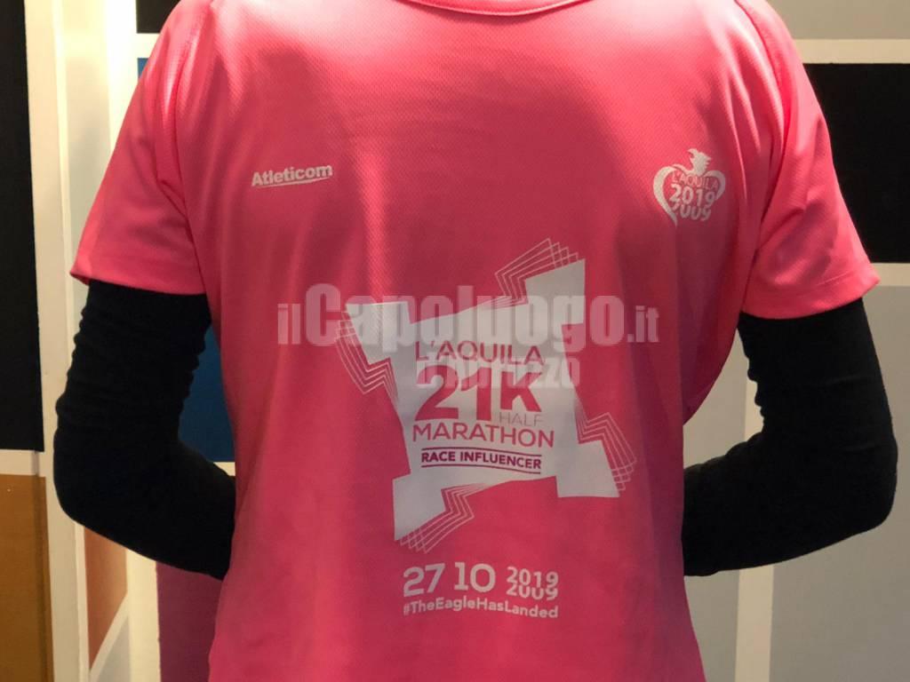 maglia promozionale mezza maratona