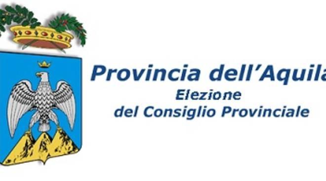 elezioni provinciali l'aquila