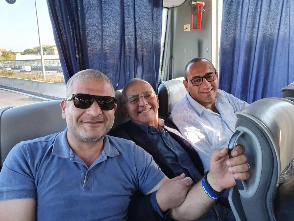 Lega Abruzzo roma Salvini