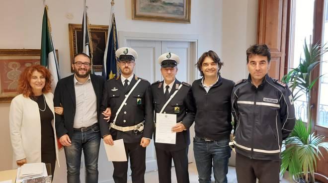 encomio polizia municipale