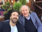 Jacopo Sipari e il violinista Ilya Grubert