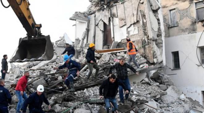 Terremoto Albania
