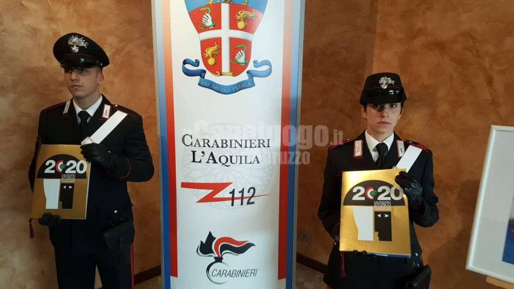 carabinieri calendario