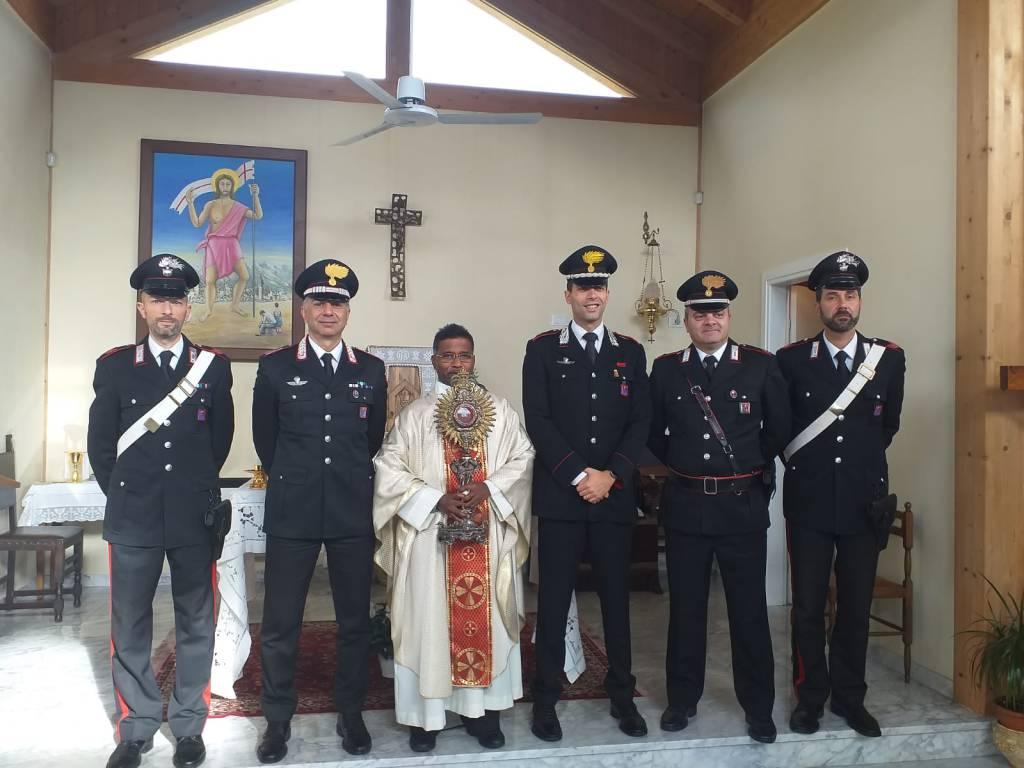 carabinieri ostensorio