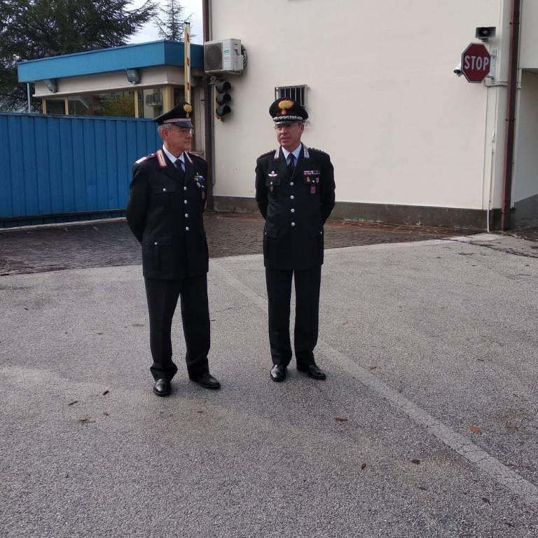 carabinieri pensione bernaudo alzabandiera