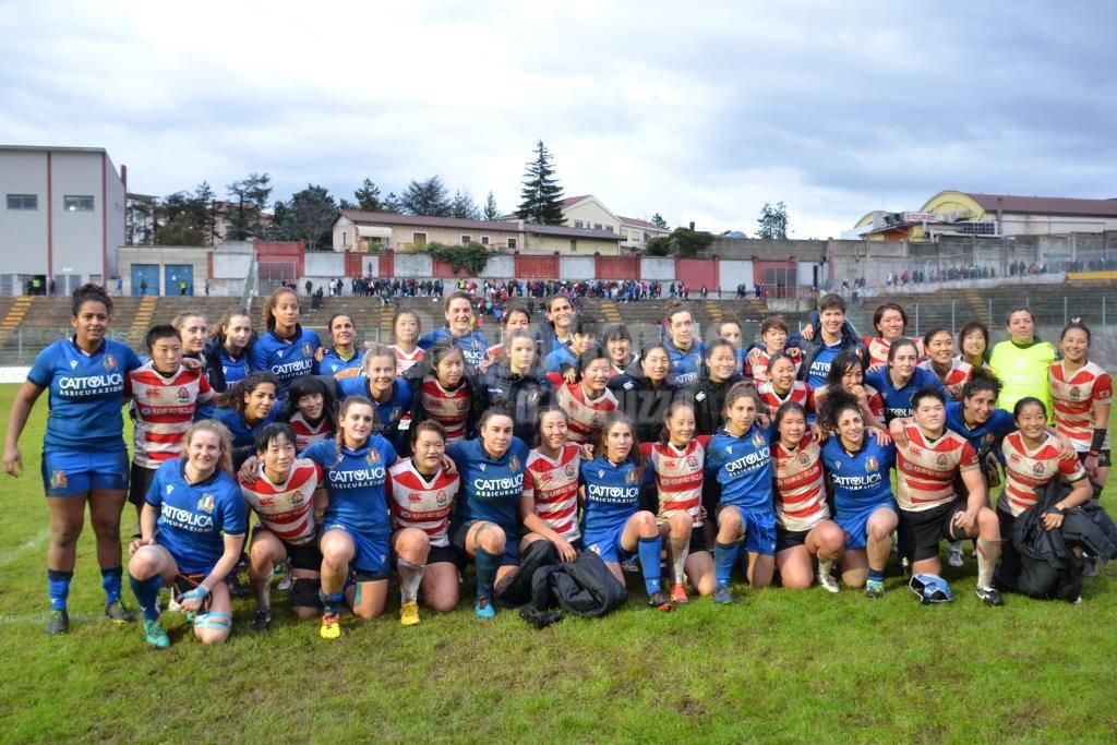 rugby nazionale femminile italia giappone