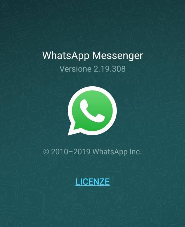 WhatsApp versione energivora