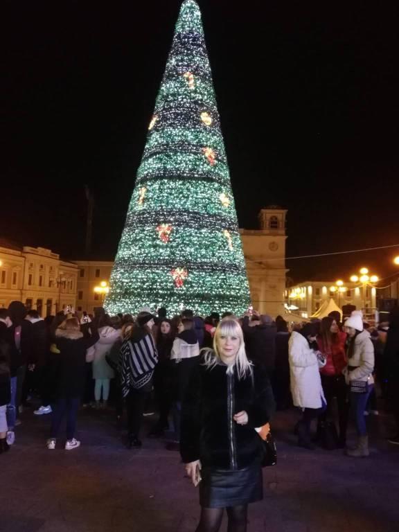 selfie albero piazza duomo