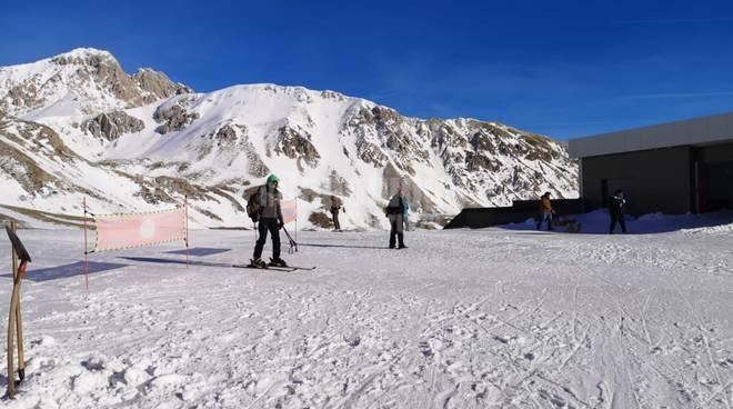 campo imperatore stagione sciistica
