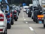coda autostrada viadotti