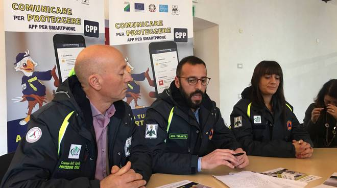 comunicare per proteggere taranta protezione civile