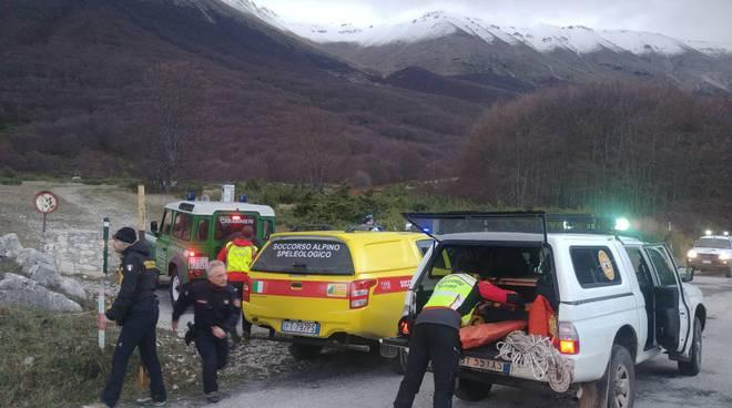 soccorso alpino carabiniere