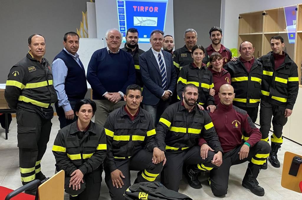 vigili del fuoco volontari