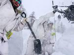 addestramento sci alpinistico alpini nono