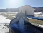acqua ghiacciata scorre Cicerana parco nazionale