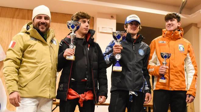 sport invernali premiazioni