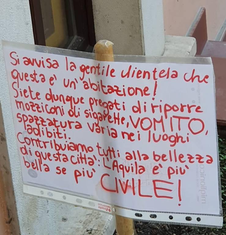 cartello centro storico