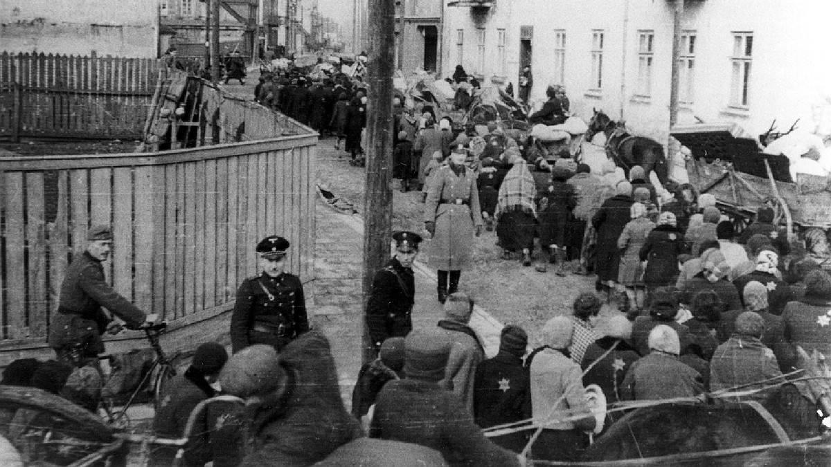 ebrei deportati ghetto di roma