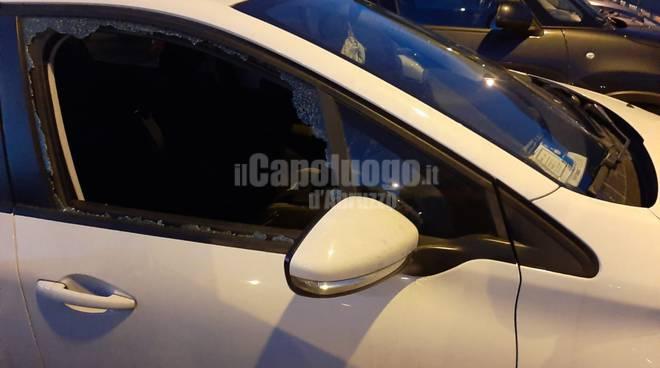 finestrino rotto furto