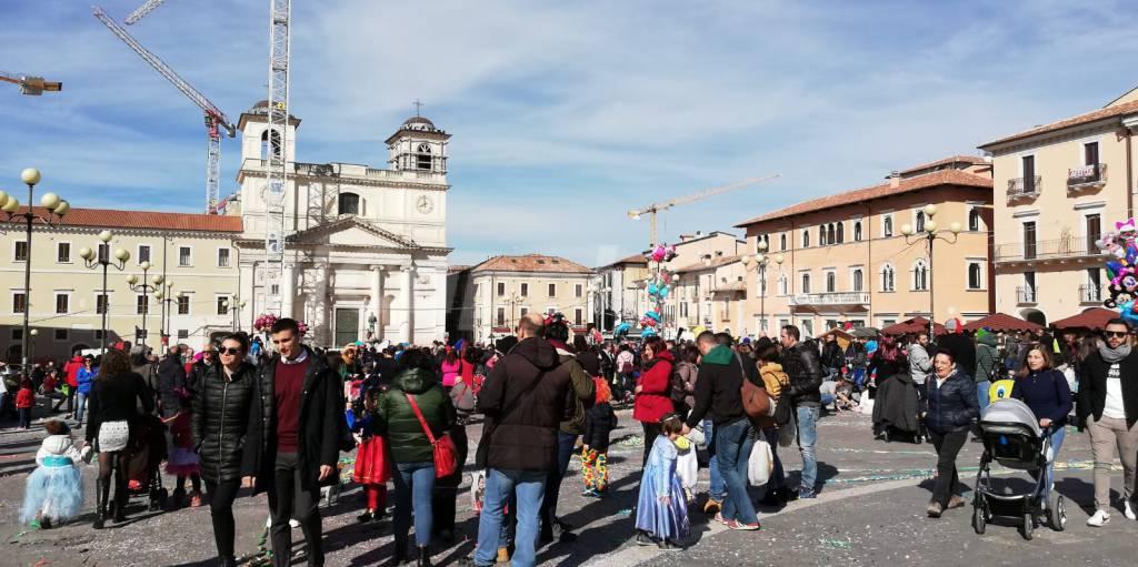 carnevale piazza duomo 2020