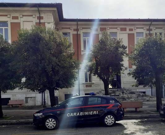 carabinieri scuola Carsoli