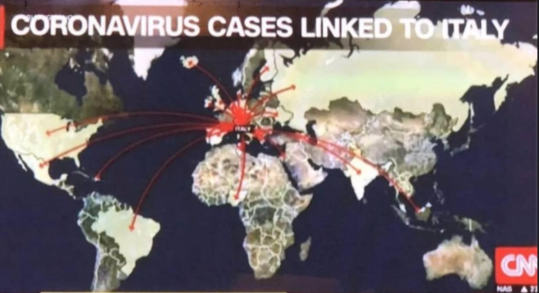 mappa coronavirus cnn