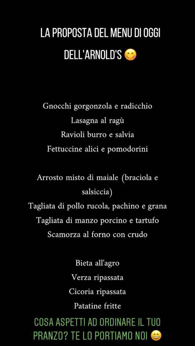 menù patatina