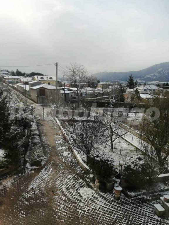 Neve e freddo: torna l'inverno in Abruzzo