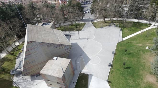 parco castello drone