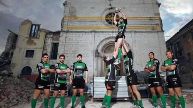 Rugby Terremoto Sport Ricostruzione