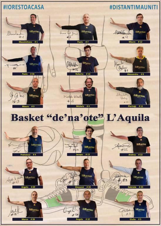 """Basket L'Aquila """"de' na' ote"""""""