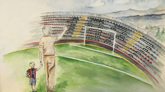 Disegno L'Aquila Calcio 1927