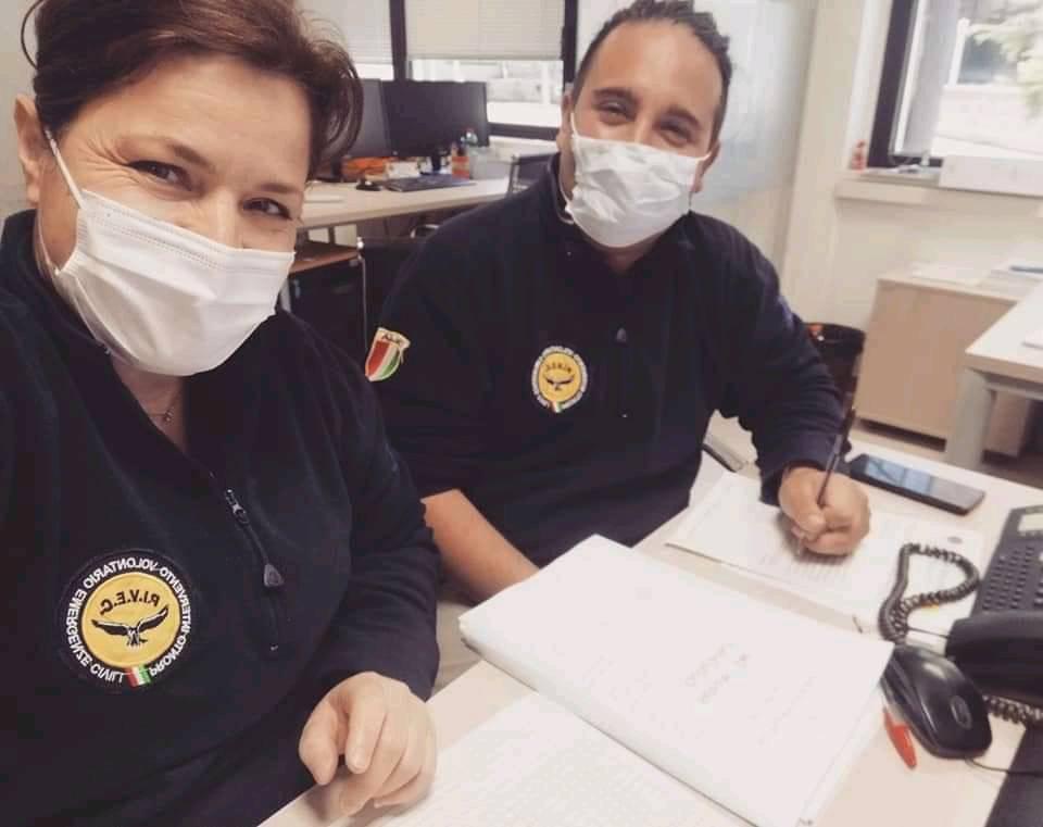 pivec volontari abruzzo coronavirus