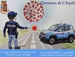 polizia covid campagna