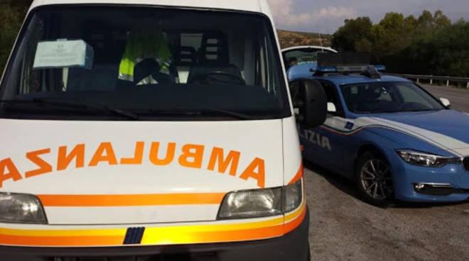 ambulanza e polizia stradale