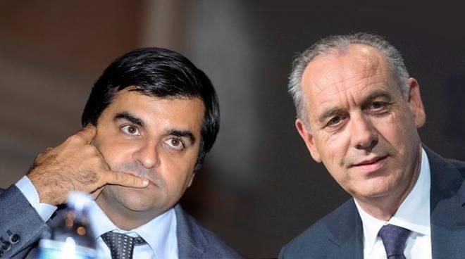 Luca Palamara e Giovanni Legnini