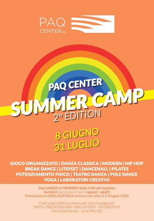 summer camp paq