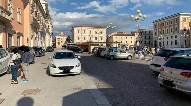 auto in centro