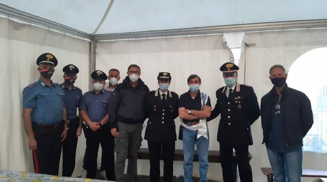 carabinieri campotosto
