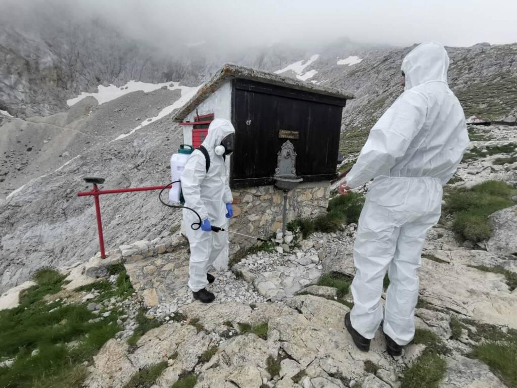 esercito alpini rifiugio montagna
