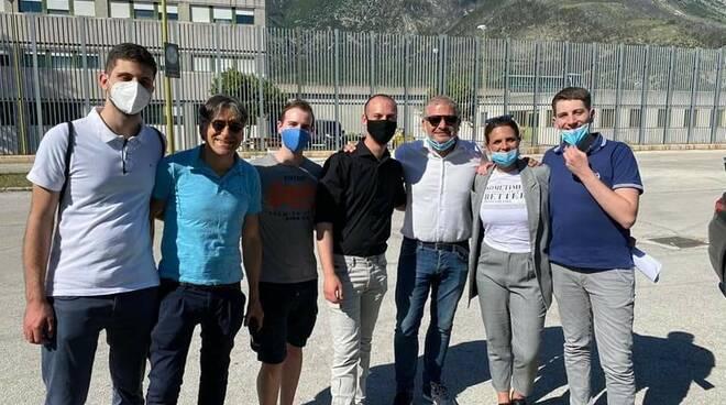 protesta carcere di sulmona
