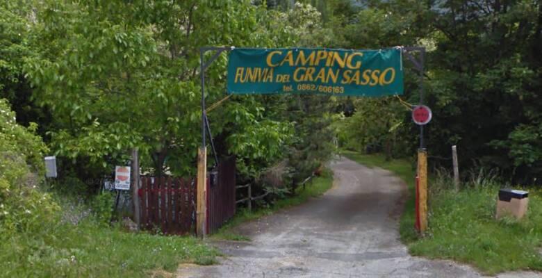 camping funivia del Gran Sasso