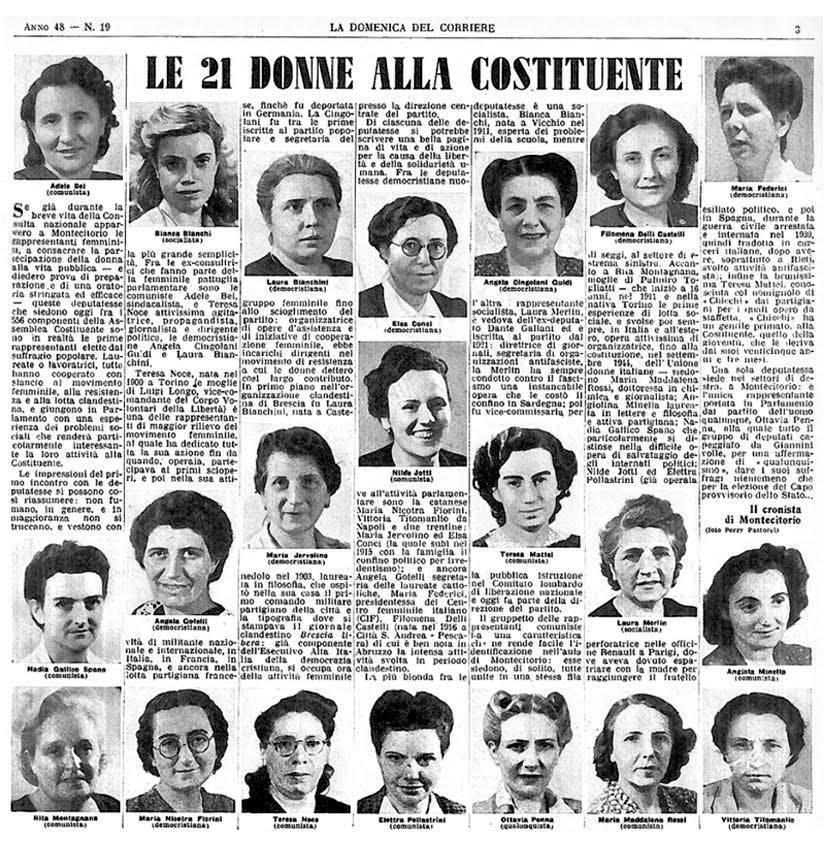 madri costituenti 2 giugno